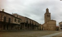 Podol Plaza before the riot.